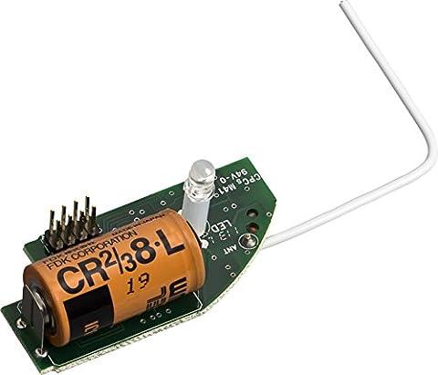 Ei Electronics Professional 10-Jahres-Funkmodul mit erweiterten Funktionen für Rauchwarnmelder Serie, eigene Lithiumbatterie, grün, (Erweiterte Sicherheitssystem)