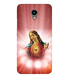 For Meizu M3 jesus, red wallpaper, white star, god, bhagwan, blessing, guru ji, christrian, lord Designer Printed High Quality Smooth Matte Protective Mobile Case Back Pouch Cover by APEX