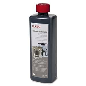 AEG ECF4 Premium Entkalker für alle Espresso- und Kaffeevollautomaten/4 Anwendungen/ 500 ml