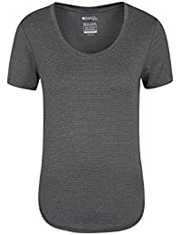 Mountain Warehouse Elliptical Womens SS Round Neck Tee - Lightweight, Breathable & Highly Wicking IsoCool Fabric With Comfortable To Wear - Ideal For Active Use