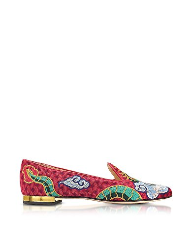 charlotte-olympia-womens-v009673960-multicolor-canvas-flats