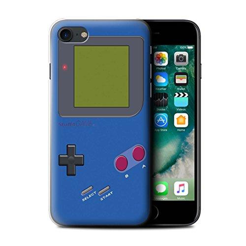 Stuff4 Hülle / Case für Apple iPhone 6+/Plus 5.5 / Violett Muster / Videogamer/Gameboy Kollektion Dunkelblau