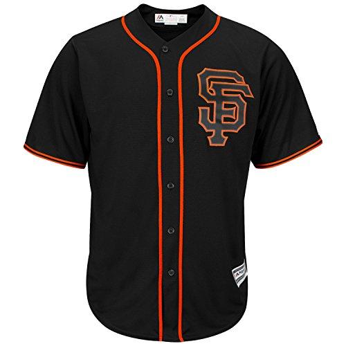 Majestic San Francisco Giants Cool Base MLB Trikot Alternate Schwarz M -