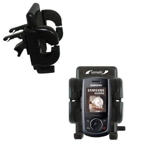 Mit Lüftungsklemme befestigter Cradle-Halter im Fahrzeug / Auto für das Samsung SGH-M600 mit Lebenslange Garantie