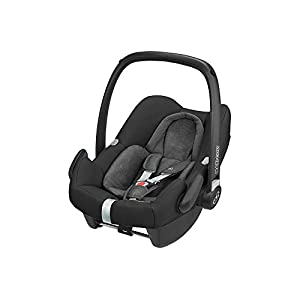 Maxi-Cosi Rock Baby Car Seat Group 0+, ISOFIX, i-Size Car Seat, Rearward-Facing, 0-12 m, 0-13 kg, Nomad Black Britax The DISCOVERY SL is an award-winning highback booster seat with flexible installation options to suit any car - with optional attachment to the car's ISOFIX anchorage points. All in a lightweight shell for easy transfer between cars Highback booster protection - this highback booster will protect your child in 3 ways: the seat shell provides head to hip protection; the upper and lower belt guides provide correct positioning of the seat belt; and the padded headrest provides safety and comfort Adjustable backrest - the child seat's adjustable backrest allows you to match the angle of the vehicle seat, providing a better fit and a comfortable position for your child 12