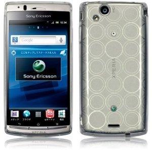Slabo TPU Schutzhülle Hülle Case für Sony Ericsson Xperia Arc | Xperia Arc S - TRANSPARENT CLEAR