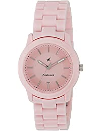 Fastrack Trendies Analog Pink Dial Women's Watch-NL68006PP04