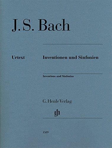 Inventions et Sinfonies Bwv 772-801