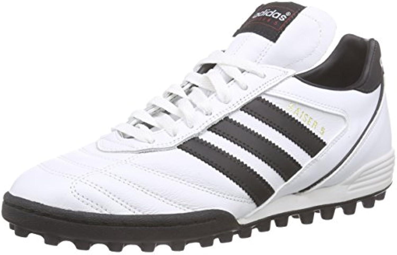 Adidas Kaiser 5 Team - Botas para Hombre, Color Blanco/Negro