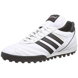 adidas Kaiser 5 Team, Scarpe da Calcio da Uomo, Bianco (Ftwr White/Core Black/Core Black), 40 2/3 EU