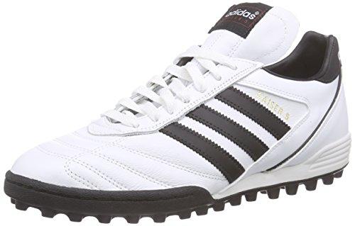 adidas Kaiser 5 Team - Scarpe da Calcio Uomo, Bianco (Ftwr White/core Black/core Black), 46 2/3 EU
