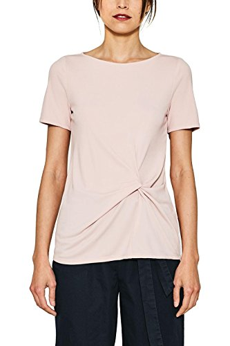 ESPRIT Collection 077eo1f008, Blusa para Mujer, Rosa (Nude 685), 38