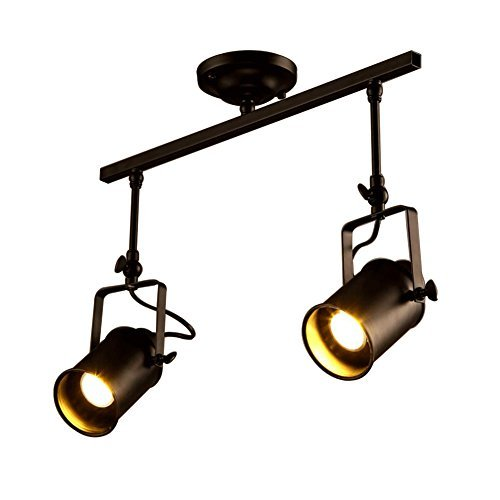 Rústico ajustable tres cabeza LED Etapa focos industriales para colgar (lámpara de...