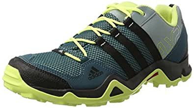 adidas Women's Ax2 W Core Black and Light Yellow Trekking and Hiking Shoes - 5 UK