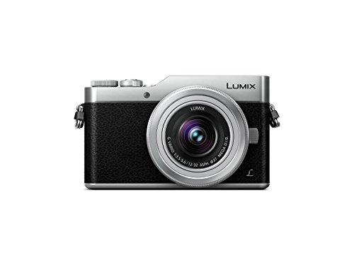 Panasonic Lumix G DC-GX800KECS - Cámara EVIL de 16 MP (M4/3, Pantalla Táctil Abatible, Tecnología DFD, WiFi, 4K, Tamaño Bolsillo) kit con Objetivo Lumix Vario 12-32mm / F3.5-5.6, color Negro y Plata