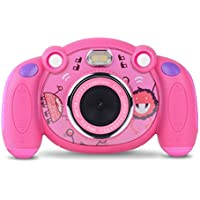 Campark Digital Camera for Children HD Kids Camera 2.0 Inch Colour Display Mini Action Camcorder Camera Toy and Gift for Children