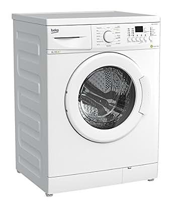 beko wml 71433 meu waschmaschine fl a 171 kwh jahr 1400 upm 7 kg wei nur 50 cm. Black Bedroom Furniture Sets. Home Design Ideas