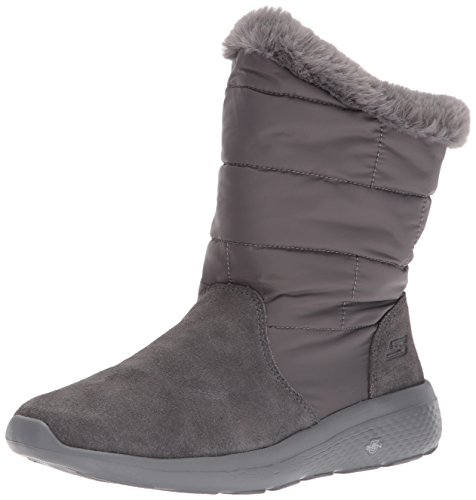 Skechers Damen On-The-Go City 2 Stiefel, Grau (Charcoal), 36 EU (Fashion Skechers Stiefel)