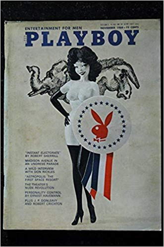 PLAYBOY US 1968 11 NOVEMBER NOVEMBER DON RICKLES PIN-UP VARGAS PAIGE YOUNG THEATER\'S NUDES SEXY