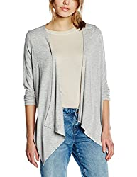 VERO MODA Womens Sweater (10149960_Light Grey Melange_S)