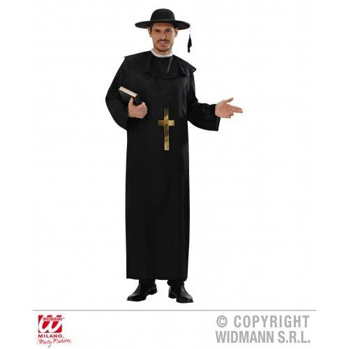 Kostüm Prediger - WIDMANN Erwachsenenkostüm Priester