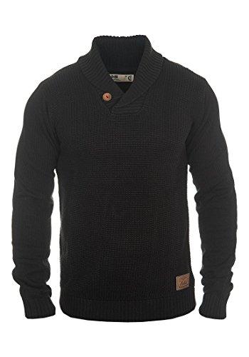 SOLID Turi - Maglione da Uomo, taglia:XXL;colore:Black (9000)