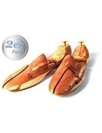 Embauchoir Zederello original en bois de cèdre - Pack de deux