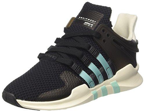 adidas Damen EQT Support ADV Sneaker Low Hals, Schwarz (Core Black/Clear Aqua/Granite), 41 1/3 EU (Schuhe Aqua Adidas)