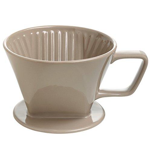 Maxwell & Williams IT51015  Kaffee Filter, Keramik, braun, 11.4 x 35.6 x 55.2 - Kaffee-filter Braun Für