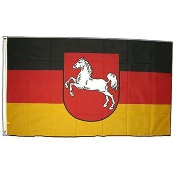 fahne flagge niedersachsen 90x150 cm sport. Black Bedroom Furniture Sets. Home Design Ideas