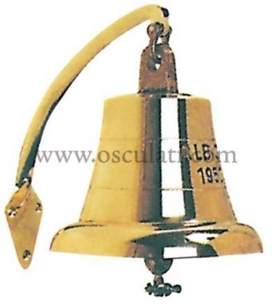 Osculati Glocke aus Bronze, 190mm, Art.-Nr.: 32.234.00