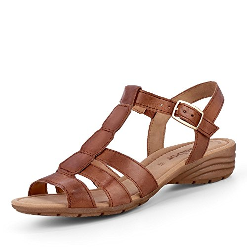 Gabor Solar Damen Casual Sandalen 7 UK/40.5 EU Copper Tucson (Gladiator-sandalen Tan)