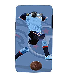 printtech Football Player Jersey Back Case Cover for Samsung Galaxy A3 / Samsung Galaxy A3 A300F