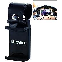 HAWEEL ® Universal volante teléfono soporte de coche para iPhone 6 y 6 Plus / ancho de 5.5-8.6 cm smartphone