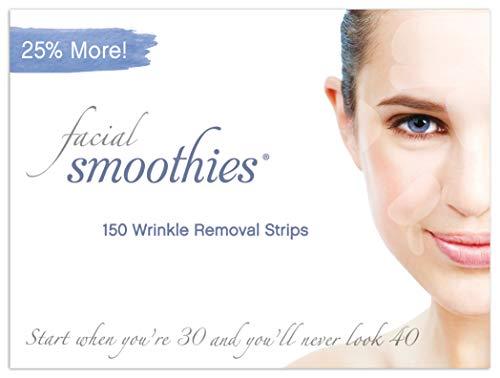 Facial Smoothies sind Falten entfernende Pflaster - Antifaltenpflaster - Anti-Aging Behandlung - Anti-Falten -