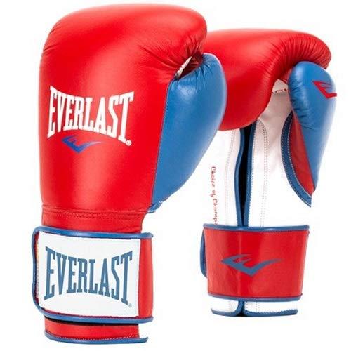 Everlast Powerlock Boxing Gloves, 14Oz (Black/Gold)
