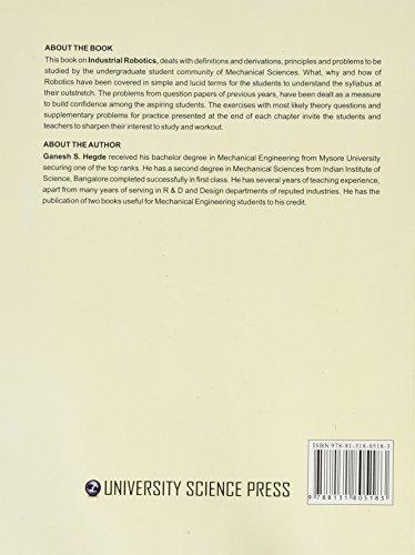 A Textbook of Industrial Robotics