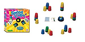 Mercurio- Juego Speed Cups 6 para 6 Jugadores Y 12 Cartas Nuevas, Multicolor (A0048)