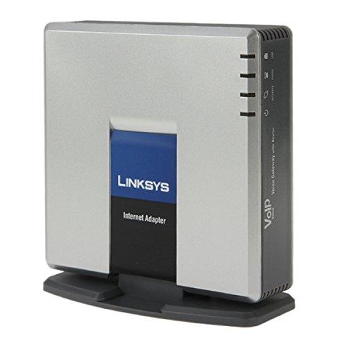 VoIP Gateway per Skype Sbloccato LINKSYS SPA3000 VOIP adattatore PSTN Phone con FXS + FXO Port