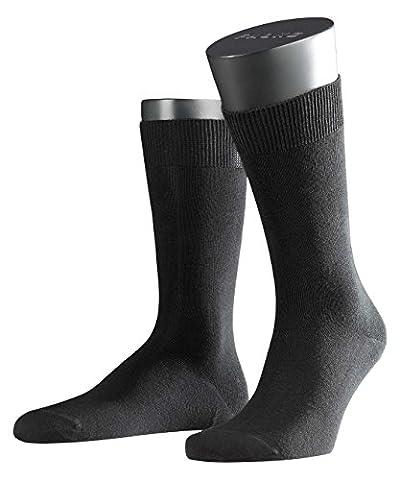 FALKE Herren Socken Swing 2er Pack, Gr. 43/46, Schwarz (Black 3000)