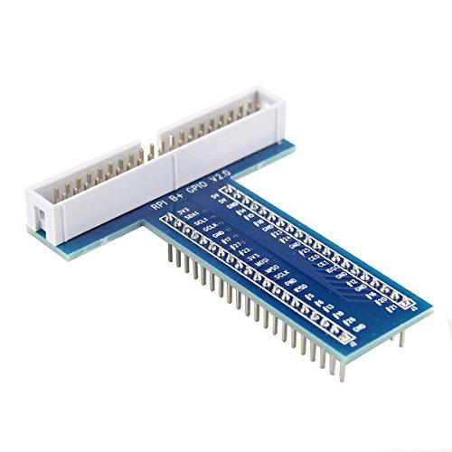 mark8shop 40Pin T Typ GPIO Adapter Erweiterung Brot Board für Raspberry Pi 2Modell B und Raspberry Pi B + - Raspberry Brot Pi Board