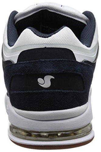 Scarpa Dvs Tycho - Vaporcell Airbag Blu Scuro Bianco Gum Suede (Eu 41 / Us 8 , Blu Scuro) NAVY/WHITE/GUM
