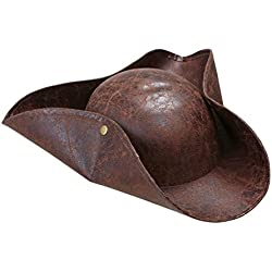 Sombrero de pirata para disfraz de adulto.