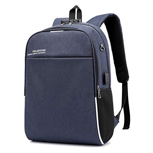 Zaino per laptop, zaino da viaggio antifurto da viaggio da uomo, donne, donne, borsa da lavoro