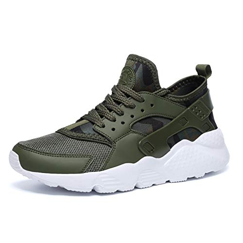Men Casual Shoes Men's Trainers Shoes Breathable Men Sneakers Chaussure Homme Zapatillas Hombre 35 Green 10