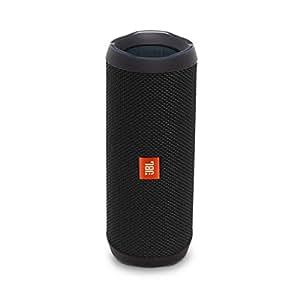 JBL Flip 4 Portable Wireless Speaker with Powerful Bass & Mic (Black)