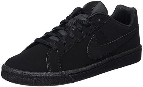 Nike Court Royale (GS), Baskets Garçon, Noir (Black/Black), 38 EU