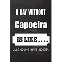 2020 Capoeira Planner: A Day without Capoeira is like.. Capoeira Planner, Notebook or Journal | Monthly and Daily Planner | Size 6 x 9 | 120 Dot Grid White Pages