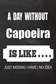 2020 Capoeira Planner: A Day without Capoeira is like.. Capoeira Planner, Notebook or Journal | Monthly and Daily Planner | S