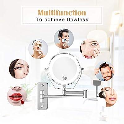 Athomestore Kosmetikspiegel mit LED Beleuchtung